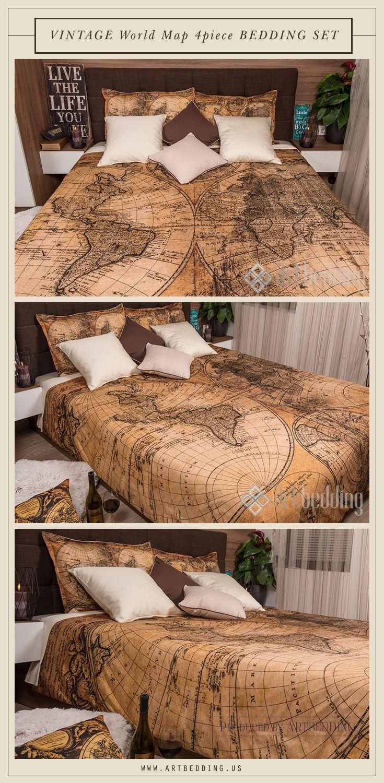 Ancient world map 1746 bedroom decor vintage interior vintage map ancient world map 1746 bedroom decor vintage interior vintage map bedding set this gumiabroncs Choice Image