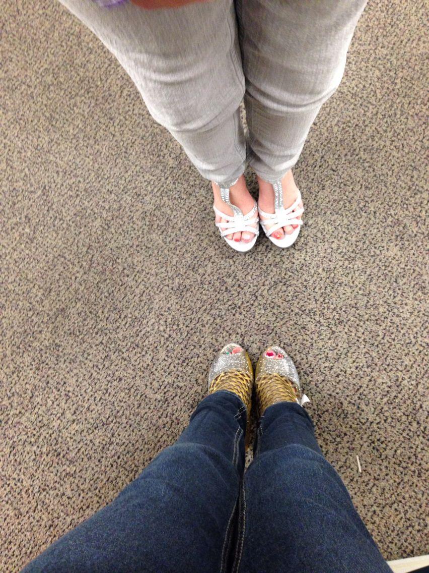 Friend high heels