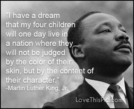 I Have A Dream Holidays I Have A Dream Martin Luther King