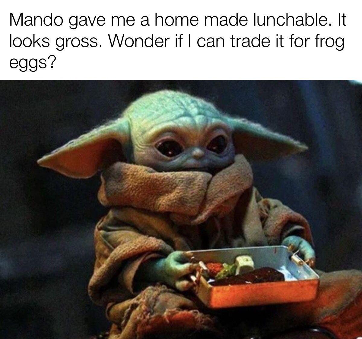 Pin By Penny Ronan On Baby Yoda Funny Star Wars Memes Yoda Funny Star Wars Jokes