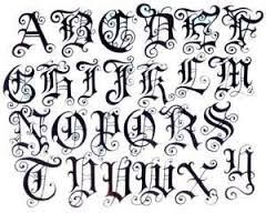 Image Result For Design Of Abcd To Z Tattoo