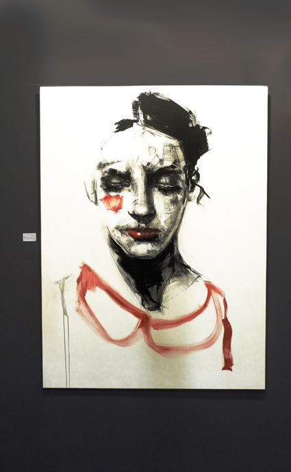 Luisa-2013-150X115-Ink and oil