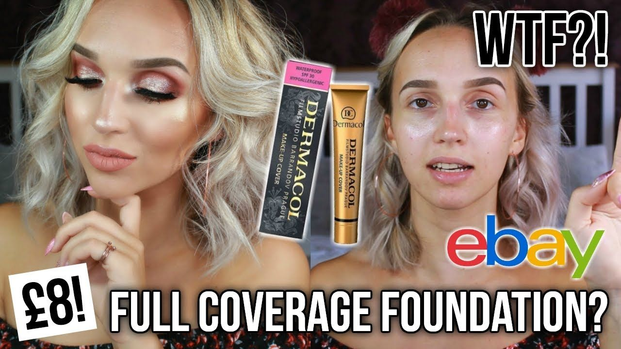 WORLD'S MOST FULL COVERAGE FOUNDATION? DERMACOL MAKEUP