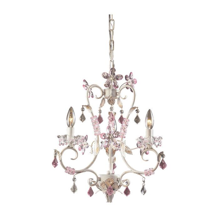 innovative girls bedroom chandelier | Pretty small chandelier for a girl's room. | home ideas ...