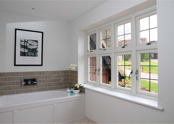 Timber Casement Windows In Modern Bathroom Glazing Pinterest - Bathroom glazing