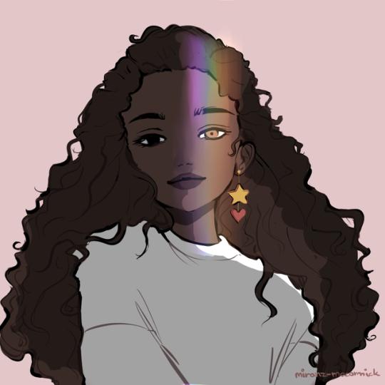 I Love Mint Tea Desenho De Cacheadas Desenho De Mulher Negra Desenhos Negras