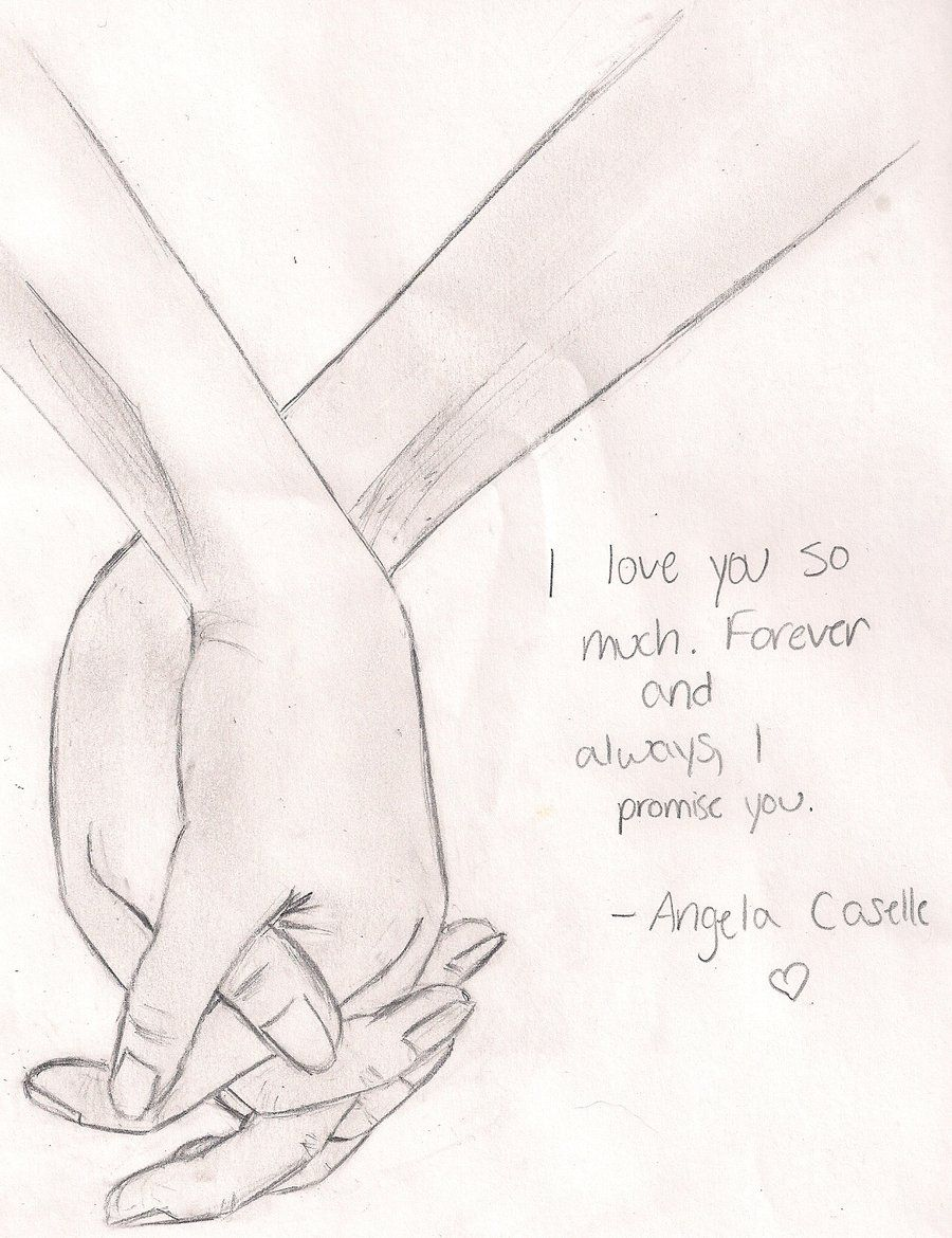 Image result for girl and boy holding hands drawings