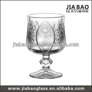 170ml Sunflower Bulk Crystal Wine Glass Wine Glass Crystals Glass