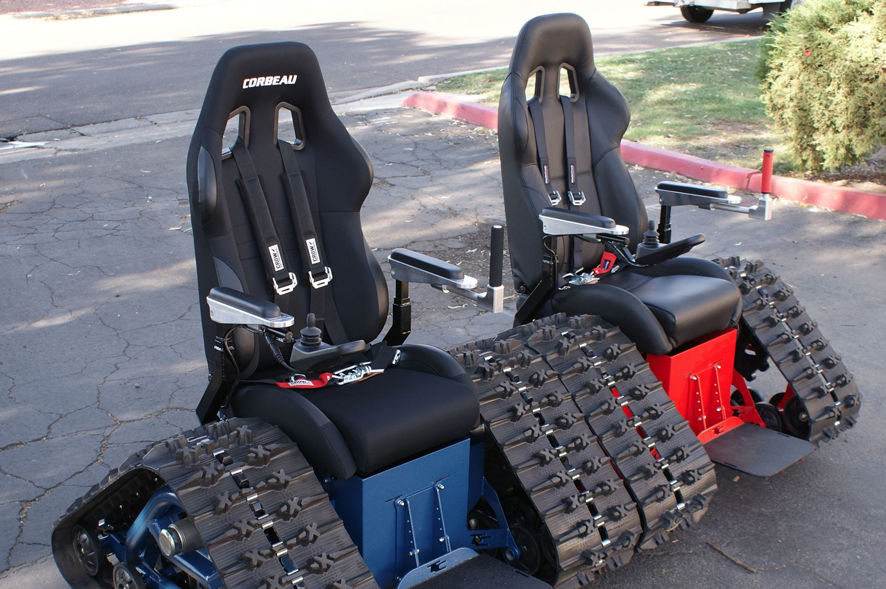 The Original Tankchair By Tc Mobility Wheelchair