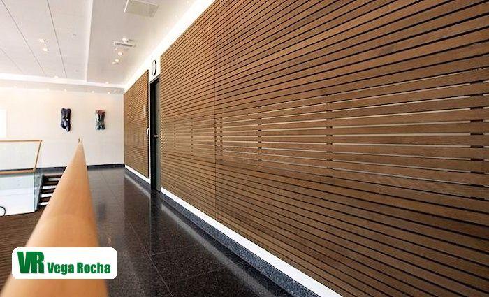 Revestimientos de madera carpinter as las palmas revestimiento madera para paredes interiores - Paneles de madera para paredes interiores ...