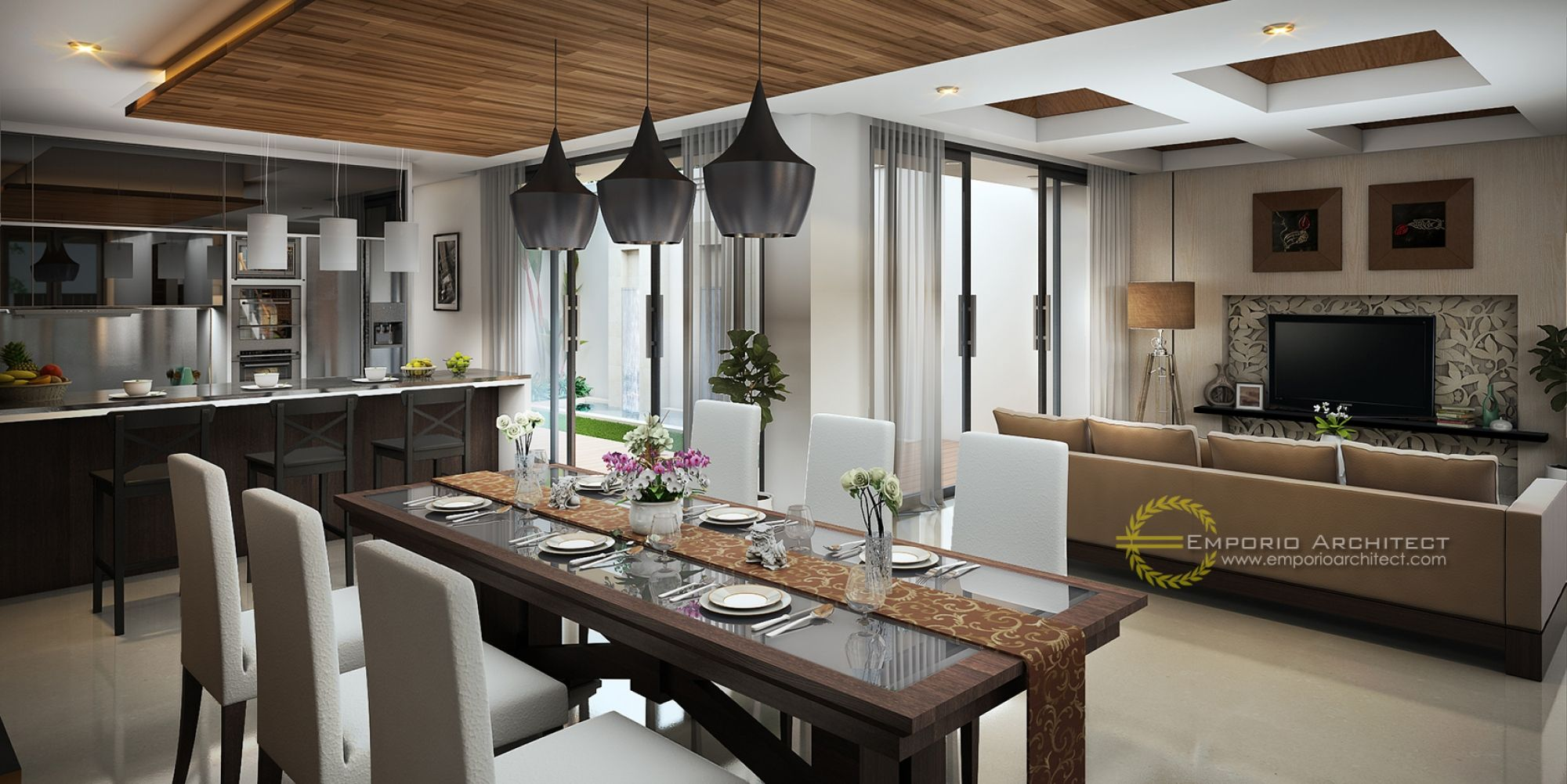Jasa Arsitek Desain Rumah Bapak AJi