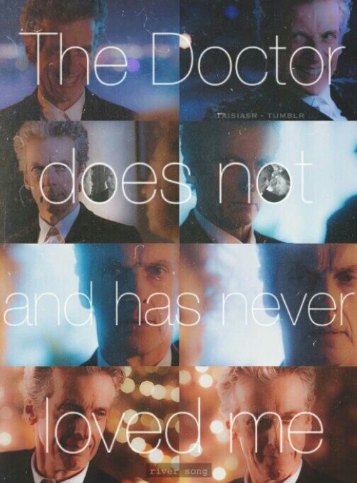 River Song quote.