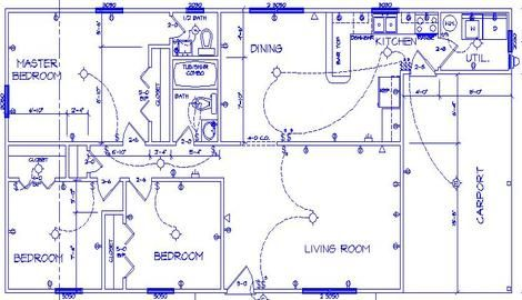 Lovely Electrical House Plan   Electrical Engineering Updates