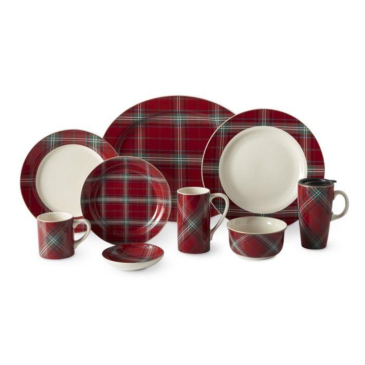 Tartan Dinnerware Collection  sc 1 st  Pinterest & Tartan Dinnerware Collection | xmas | Pinterest | Tartan Dinnerware ...