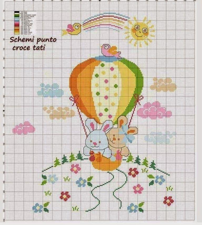 Aficiones empleos femeninos - Bordado - crochet - tejido | PUNTOCRUZ ...