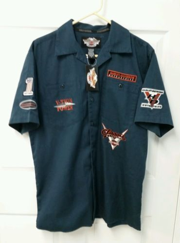Nwt Men S Harley Davidson Motor Clothes All American Legend Button Up Shirt Sz M In Clothing Shoes Accessories Casual Shirts For Men Harley Davidson Shirts