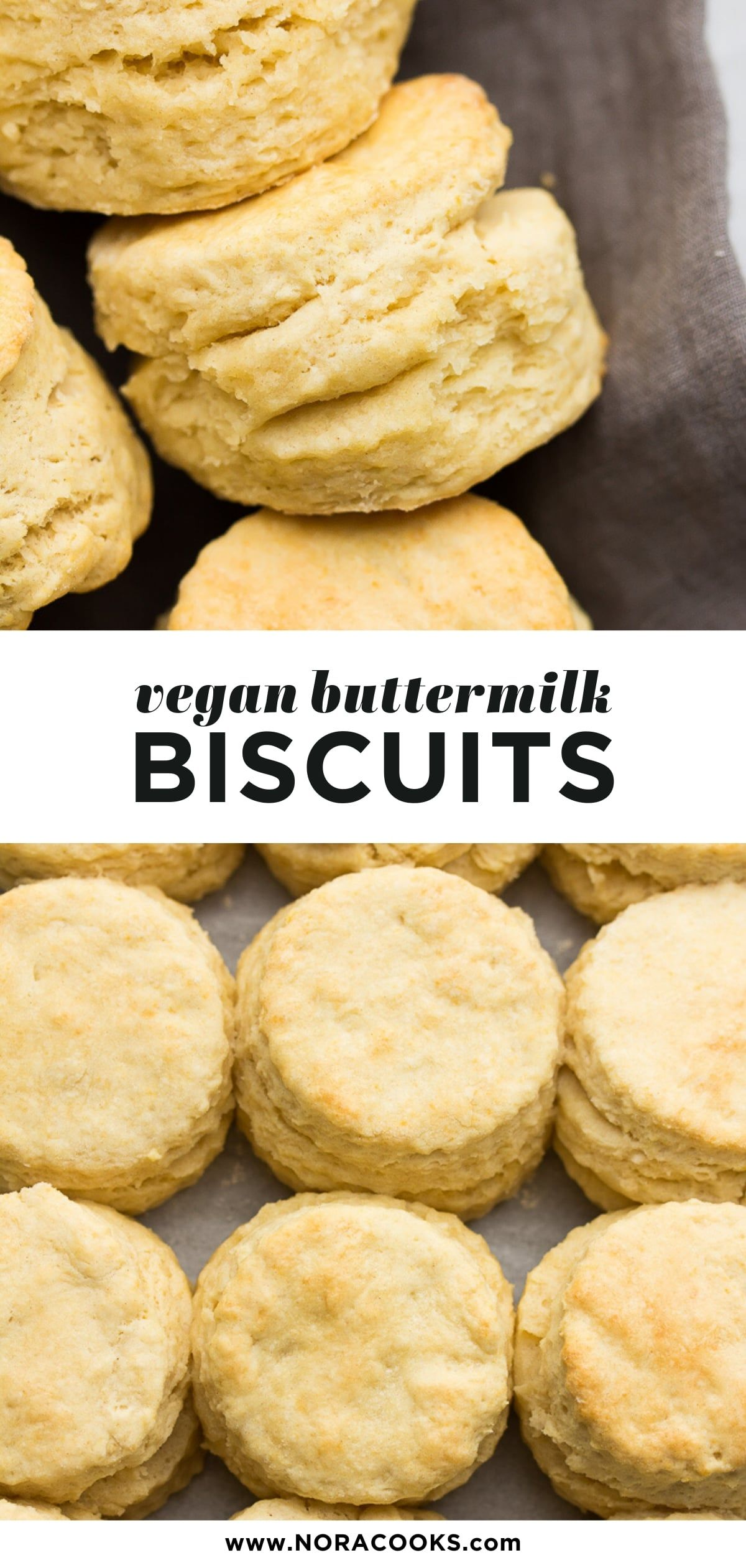 Vegan Buttermilk Biscuits Are Tall Ultra Flakey And Buttery They Have So Many Layers And Are Easy To M In 2020 Buttermilk Biscuits Biscuit Recipe Vegan Recipes Easy