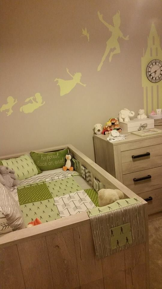 Peter Pan Inspired Nursery A Great Gender Neutral Design