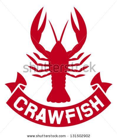 7f3fd66e crawfish label (crawfish silhouette, crayfish icon, lobster sign, crawfish  symbol) by Tribalium, via ShutterStock