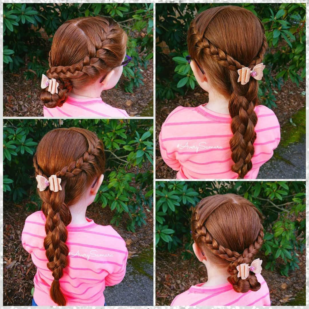 Bun style five strand style lace braids easy hairstyles braids