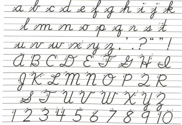 You\'re going to use cursive sometime again in your life, not just in ...