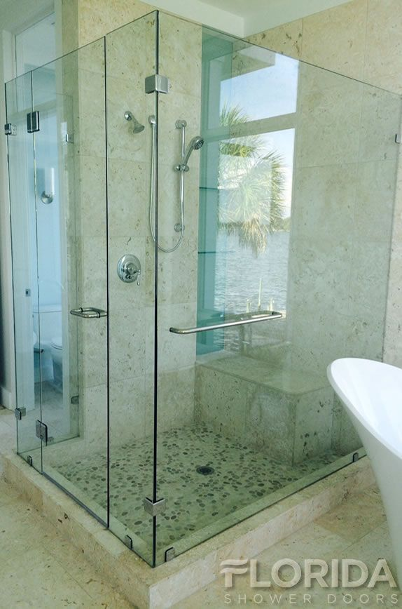 Frameless Enclosures Florida Shower Doors Manufacturer With
