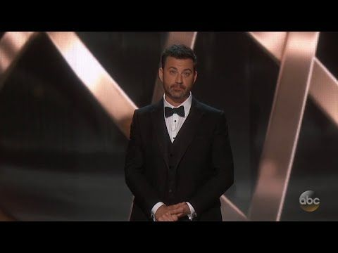 THE EMMYS | ▶ Jimmy Kimmel's Emmys 2016 Monologue - YouTube | Published on Sep 18, 2016 | Jimmy's opening monologue from the 2016 Primetime Emmys.