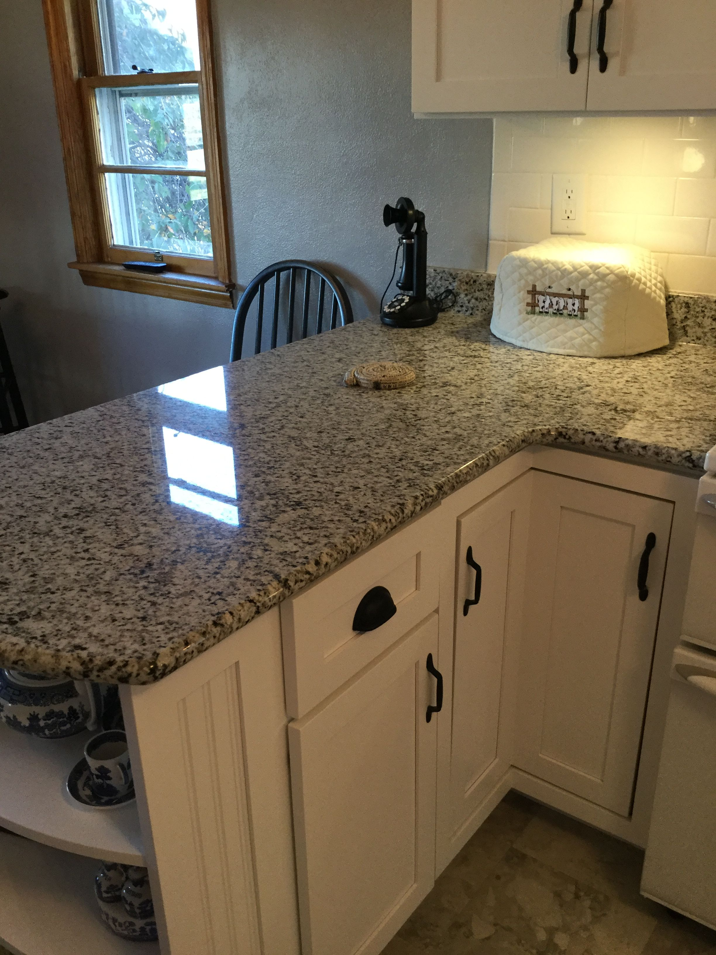 Kitchen With White Cabinets And Quartz Counter Tops Valle Nevado Granite Classic Marble & Stone, Hoagland, In