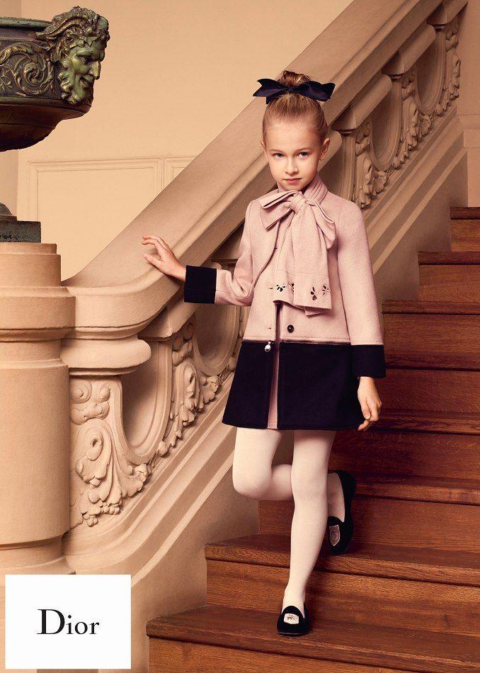 d23247032377e0d Baby Dior Collection AH 2015/2016 Дизайнер Детской Одежды, Baby Dior,  Красивые Девочки