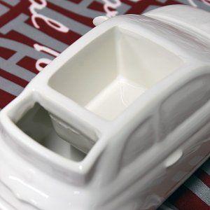 Photo of フィアット純正 500テーブルプランター(セラミック製) :19890:イタリア自動車雑貨店ショッピング – 通販 – Yahoo!ショッピング