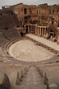 Bosra Amphitheater Syria | #WotA : Reference for the Crown of Ao amphitheater #ThroneofAo