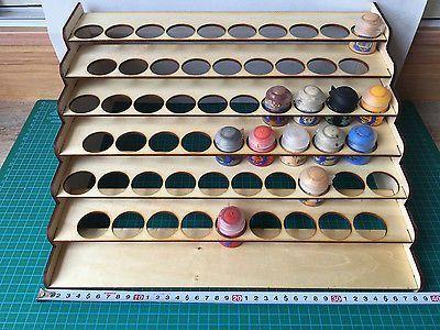 Citadel Paint Storage Rack 57 Paints 34mm Holder P3