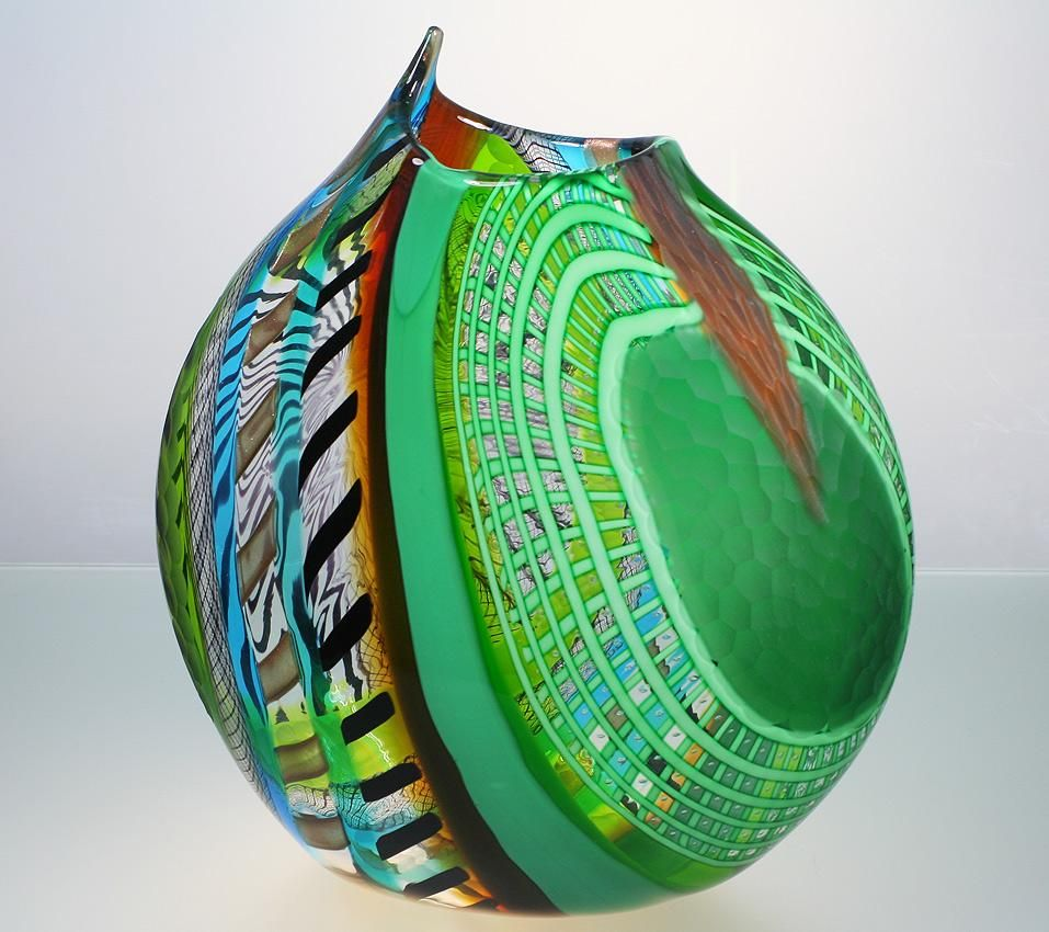 Murano glass vases areaneo luca vidal studio celotto murano murano glass vases areaneo luca vidal studio celotto murano glass vase lauritz reviewsmspy