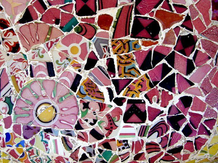 Trencadis art trencadis gaudi - cerca amb google | gaudí - park güell