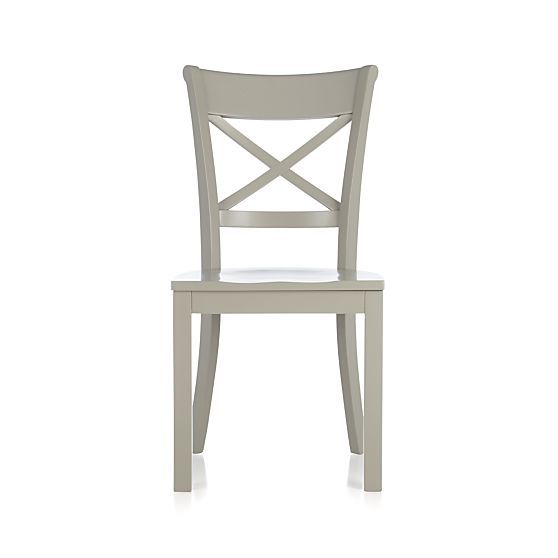 Vintner Dove Side Chair Wood Dining Chairs Side Chairs Sand Chair