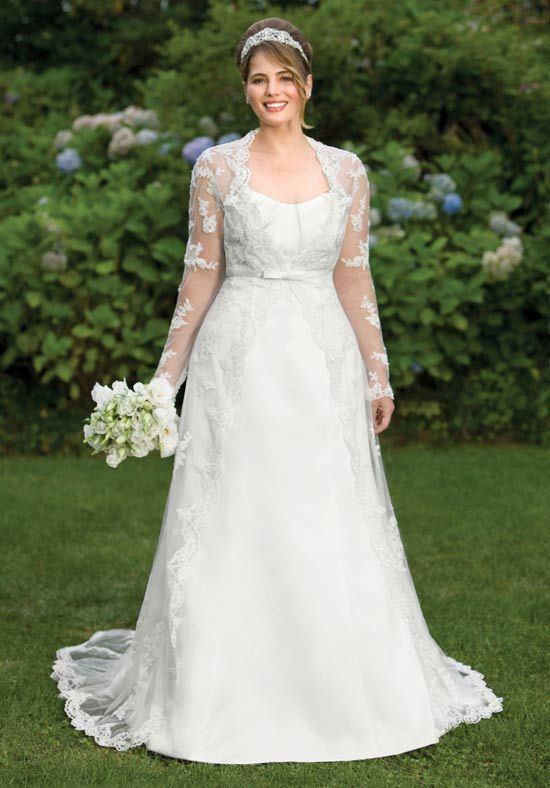 hochzeitskleider für mollige 5 besten | Chic wedding dresses, Chic ...