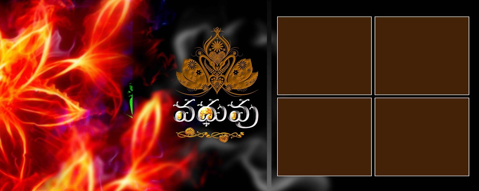 Wedding Photo Background 12x36 Psd Format Free Download In