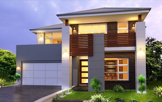 Home Builders Designs Modern Double Storey House Plans  Outdoors  Pinterest  Double .