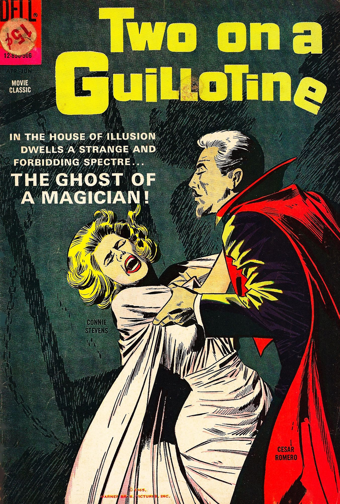 Two On A Guillotine Vintage Comics Covers