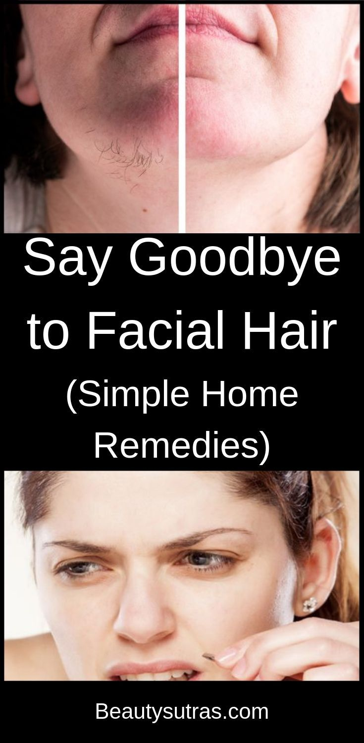 Say Goodbye to Facial Hair (Simple Home Remedies) Face