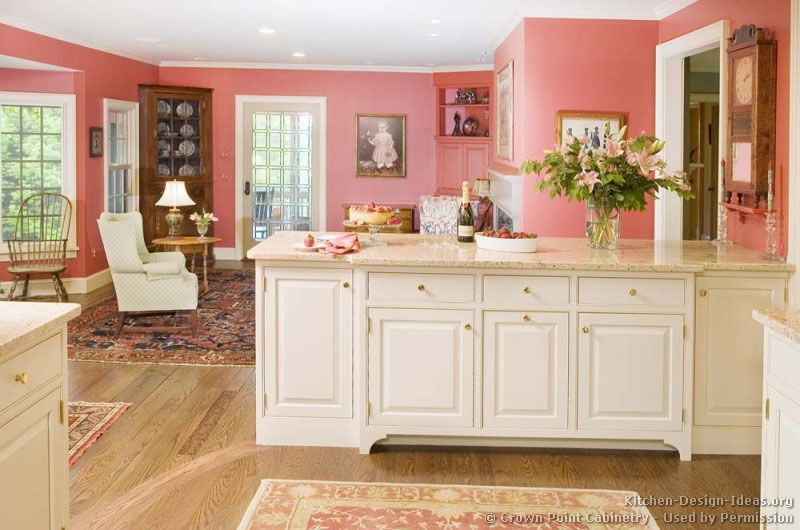 Traditional White Kitchen Cabinets #11 Crownpoint Kitchen Fair Traditional White Kitchen Cabinets Decorating Inspiration