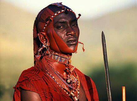 Maasai warrior    Kenya