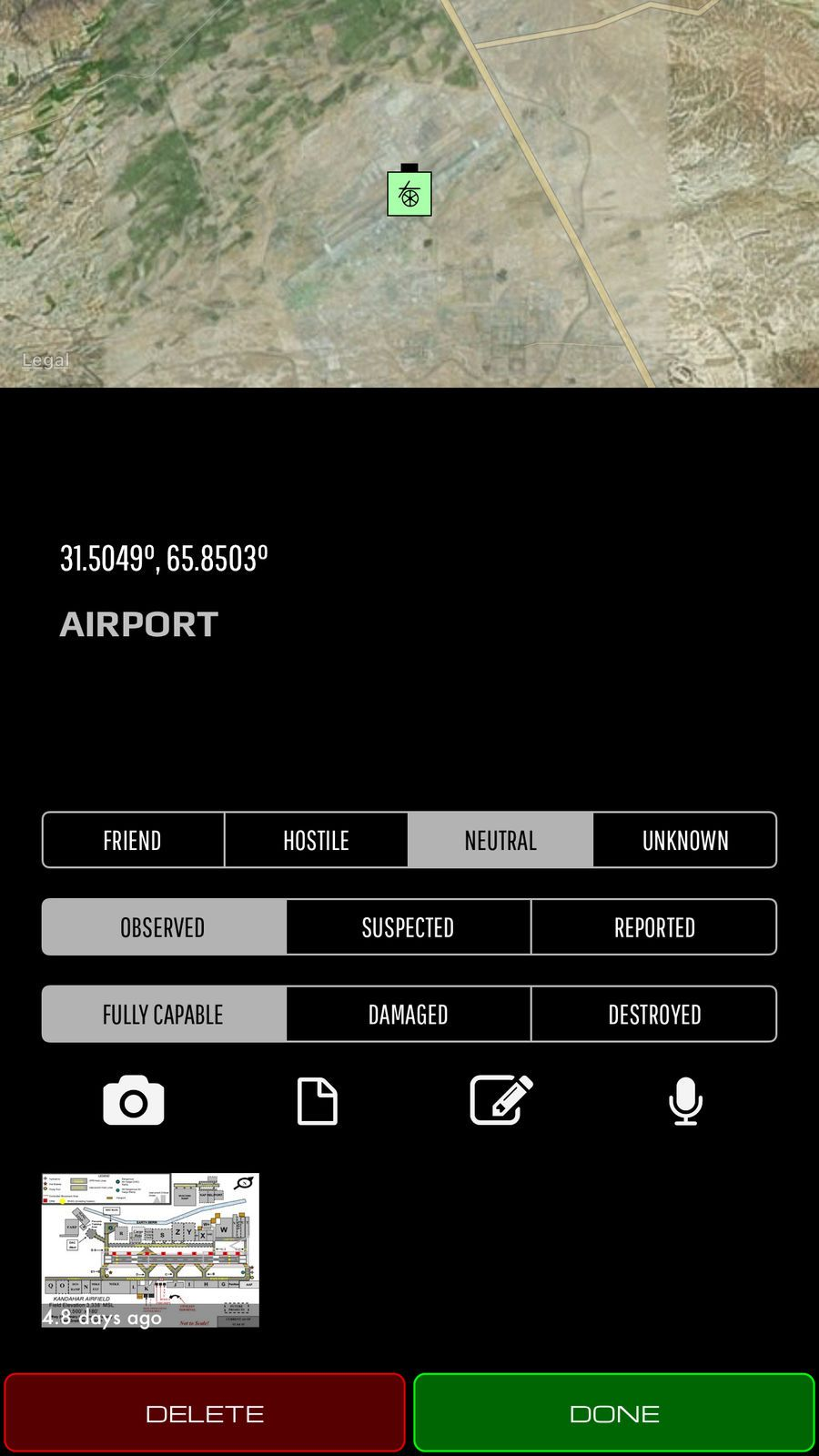 Sitrep Tactical Mapping Itak Navigation Obscurity Apps Ios