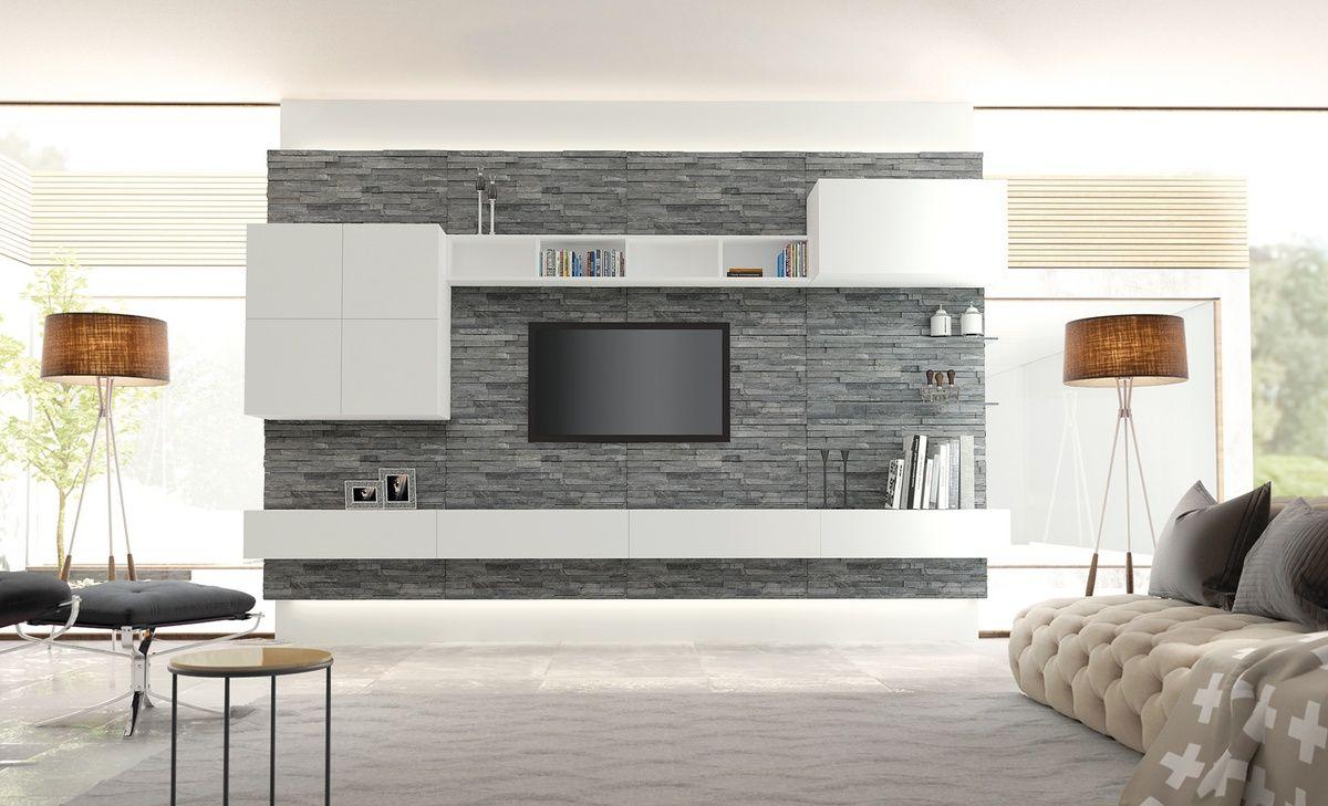 rivestimento da parete per soggiorno - Cerca con Google | idee casa ...