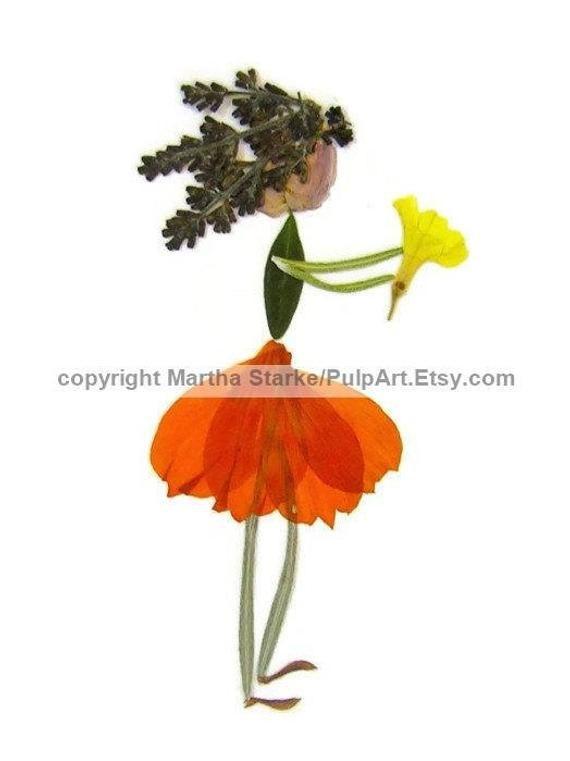 Gepresste Blumenkunst – PDF TUTORIAL – So stellen Sie Ihre eigenen Blütenblätter her – Oshibana – DIY-Karten aus gepressten Blumen, Blättern und Farnen