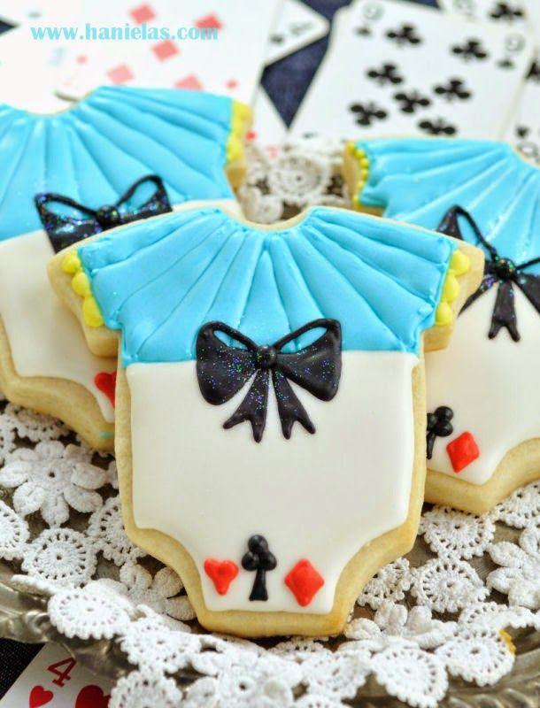 Hanielas Alice In Wonderland Onesie Cookies Cookies Onesies