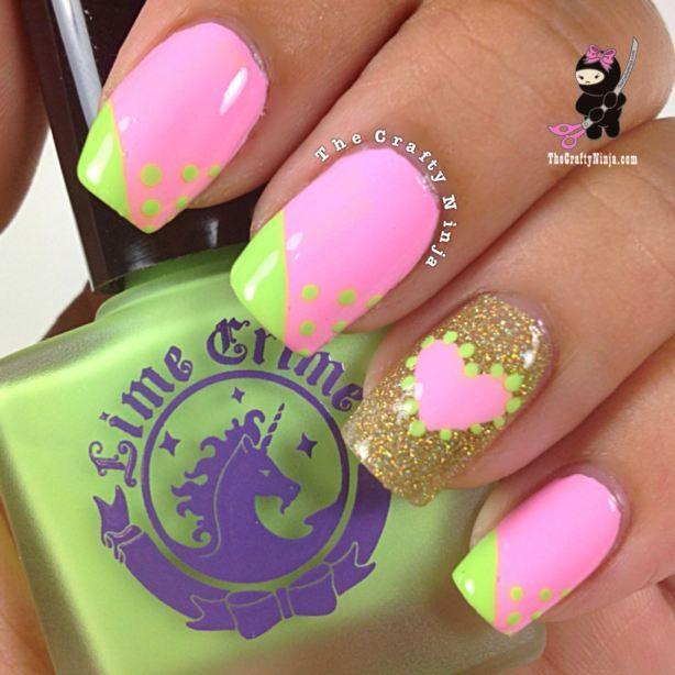 22 Amazing Nail Art Tutorials By Blogger The Crafty Ninja My Style