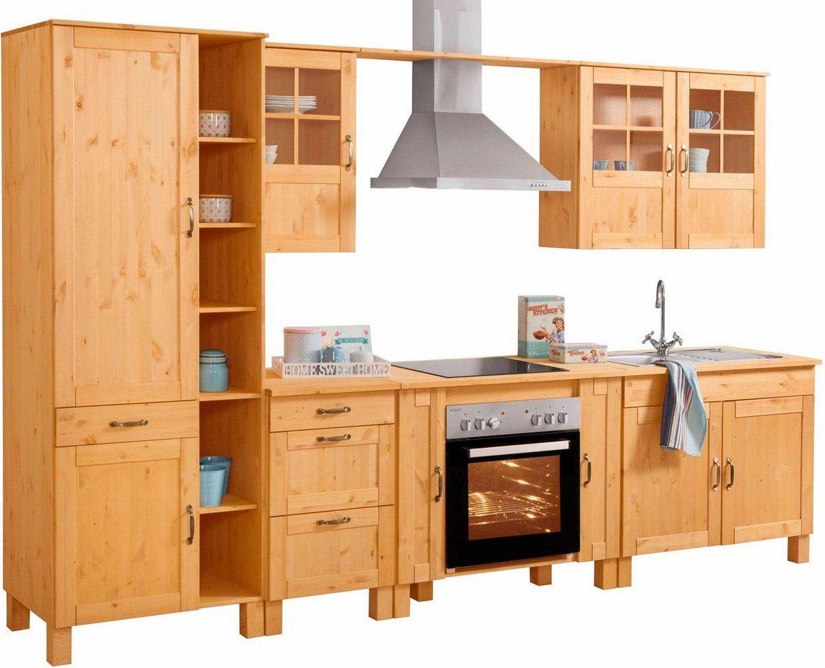 Küchen-Set »Alby«, ohne E-Geräte, Breite 325 cm, aus ...