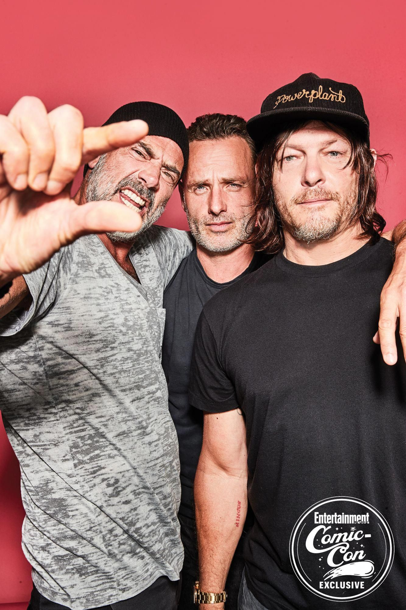 Jeffrey Dean Morgan, Andrew Lincoln, Norman Reedus (<em>The Walking Dead</em>) #Fitness