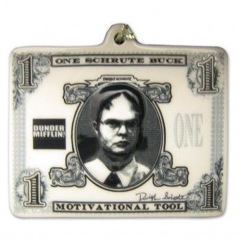 The Office Ornament Schrute Buck Ornament Reviews ORNAMENTS